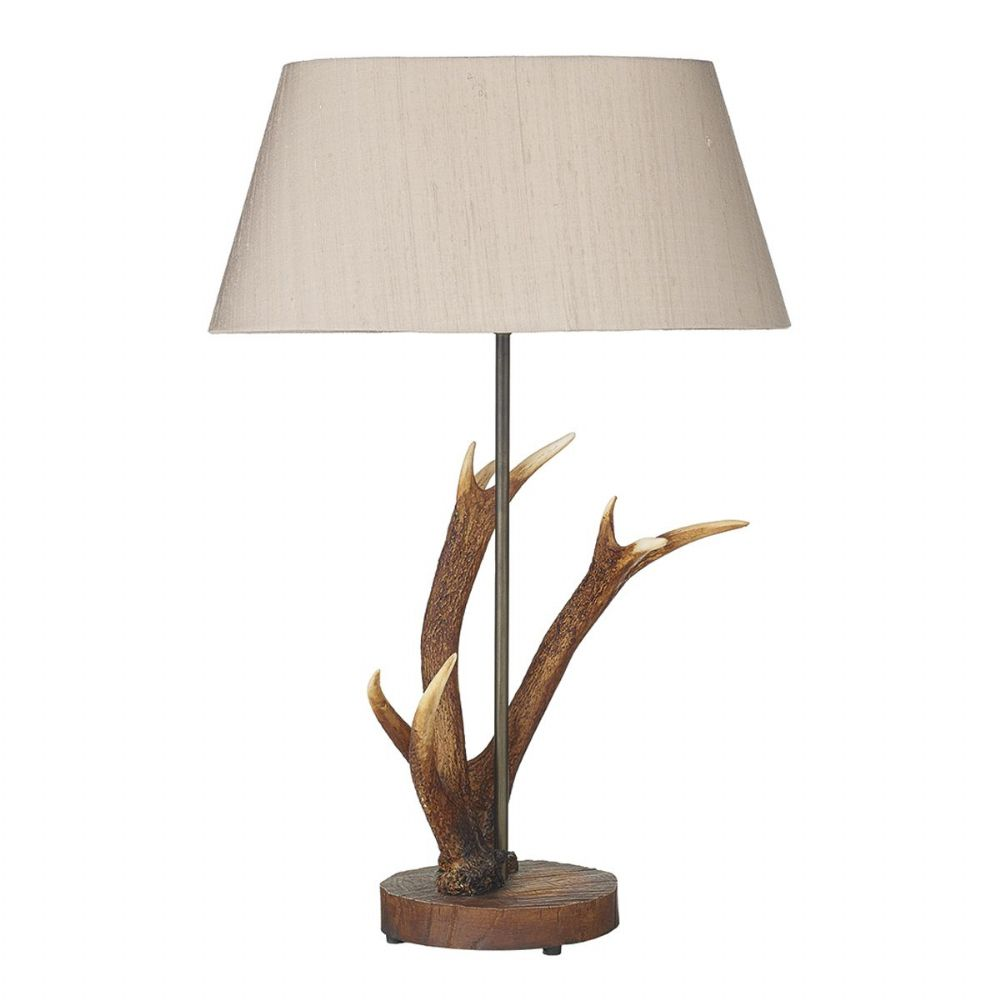 Antler Lamp Small Table Lamp Base Only ANT4129 (Hand made, 7-10 day Delivery)